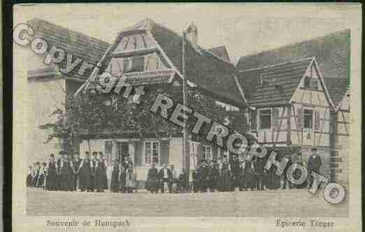 Ville de HUNSPACH Carte postale ancienne