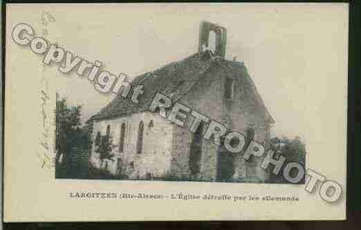 Ville de LARGITZEN Carte postale ancienne