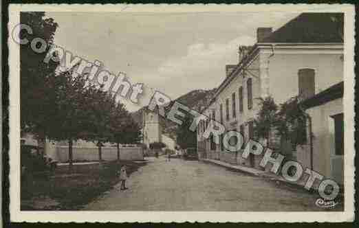 Ville de LOUVIEJUZON Carte postale ancienne