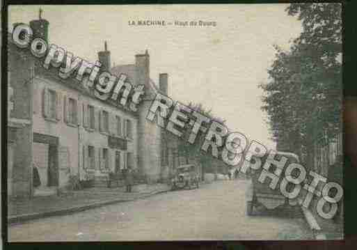 Ville de MACHINE(LA) Carte postale ancienne