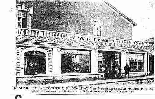 Ville de MARINGUES Carte postale ancienne