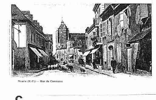 Ville de MONEIN Carte postale ancienne