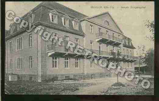 Ville de MOOSCH Carte postale ancienne