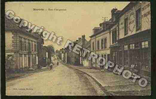 Ville de MORTREE Carte postale ancienne