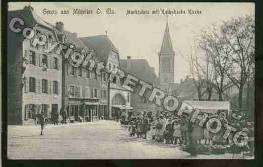 Ville de MUNSTER Carte postale ancienne