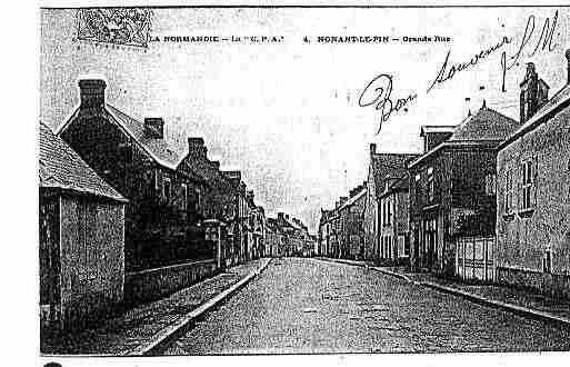 Ville de NONANTLEPIN Carte postale ancienne