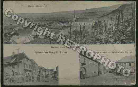Ville de NOTHALTEN Carte postale ancienne
