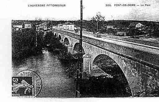 Ville de PESCHADOIRES Carte postale ancienne