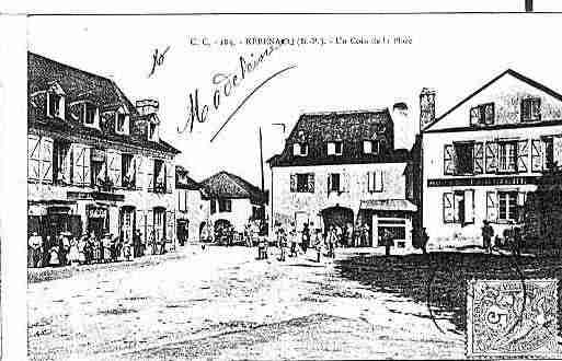 Ville de REBENACQ Carte postale ancienne