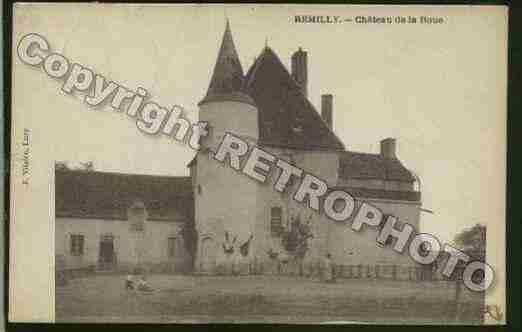 Ville de REMILLY Carte postale ancienne