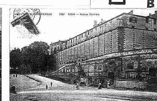 Carte postale ancienne de la ville de riom ph047892 h sur for Piscine riom