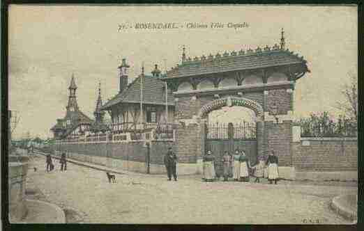 Ville de ROSENDAEL Carte postale ancienne