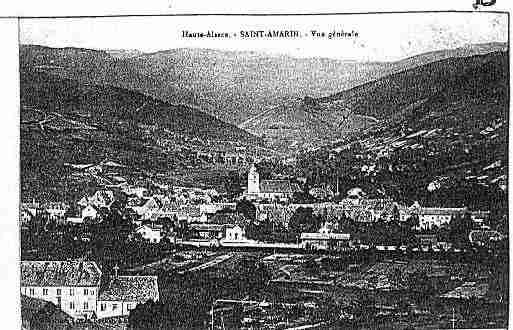 Ville de SAINTAMARIN Carte postale ancienne