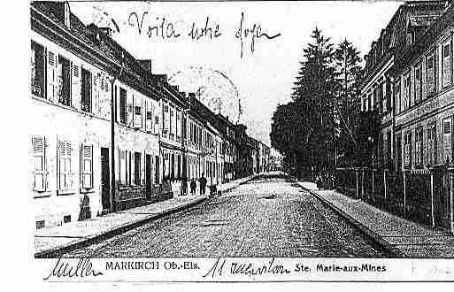 Ville de SAINTEMARIEAUXMINES Carte postale ancienne