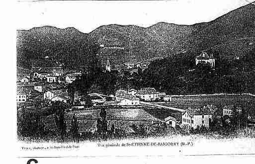 Ville de SAINTETIENNEDEBAIGORRY Carte postale ancienne