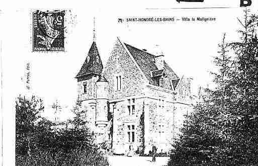 Ville de SAINTHONORELESBAINS Carte postale ancienne