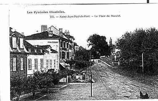 Ville de SAINTJEANPIEDDEPORT Carte postale ancienne