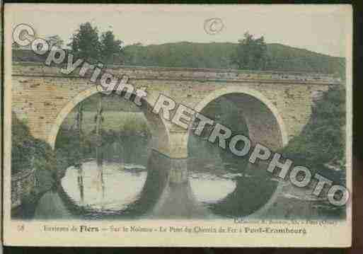 Ville de SAINTPIERREDUREGARD Carte postale ancienne
