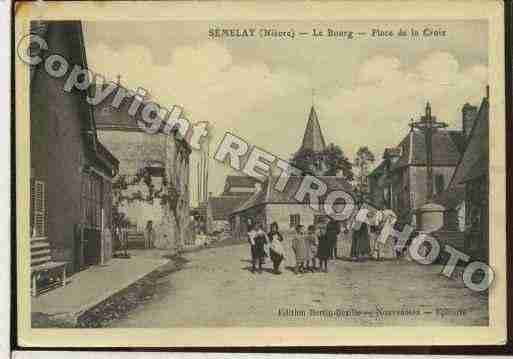 Ville de SEMELAY Carte postale ancienne