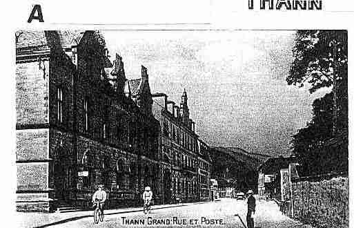 Ville de THANN Carte postale ancienne