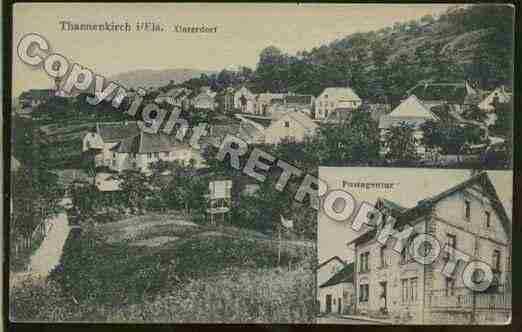 Ville de THANNENKIRCH Carte postale ancienne