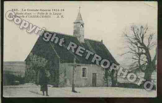 Ville de UEBERSTRASS Carte postale ancienne
