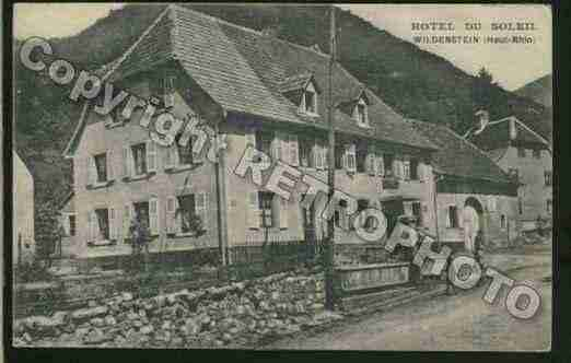 Ville de WILDENSTEIN Carte postale ancienne