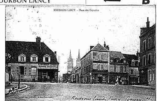 Ville de BOURBONLANCY Carte postale ancienne