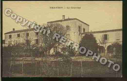Ville de BRANDON Carte postale ancienne