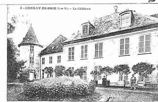 Ville de CHAILLYENBRIE Carte postale ancienne