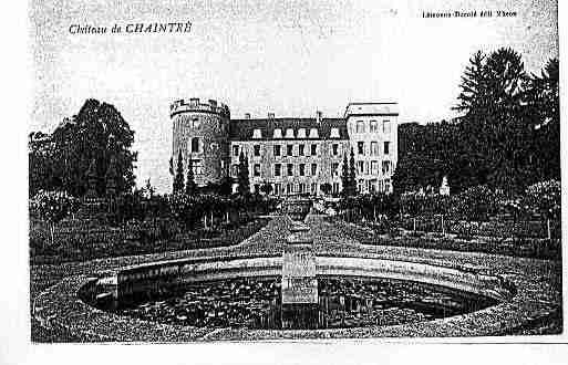 Ville de CHAINTRE Carte postale ancienne