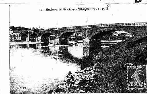 Ville de CHAMBILLY Carte postale ancienne