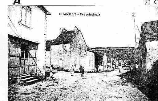 Ville de CHAMILLY Carte postale ancienne