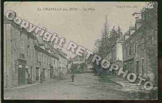 Ville de CHAPELLESOUSDUN(LA) Carte postale ancienne