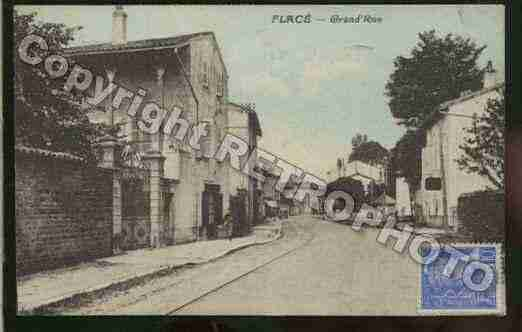 Ville de FLACELESMACON Carte postale ancienne