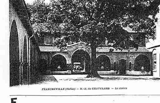Ville de FRANCHEVILLE Carte postale ancienne