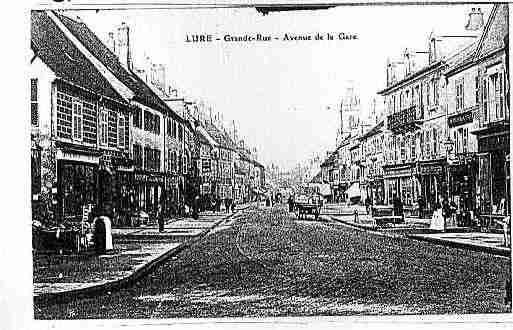 Carte postale ancienne de la ville de lure ph052123 c sur for Lure haute saone