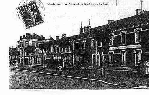 Ville de MONTCHANIN Carte postale ancienne