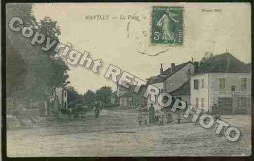 Ville de NAVILLY Carte postale ancienne