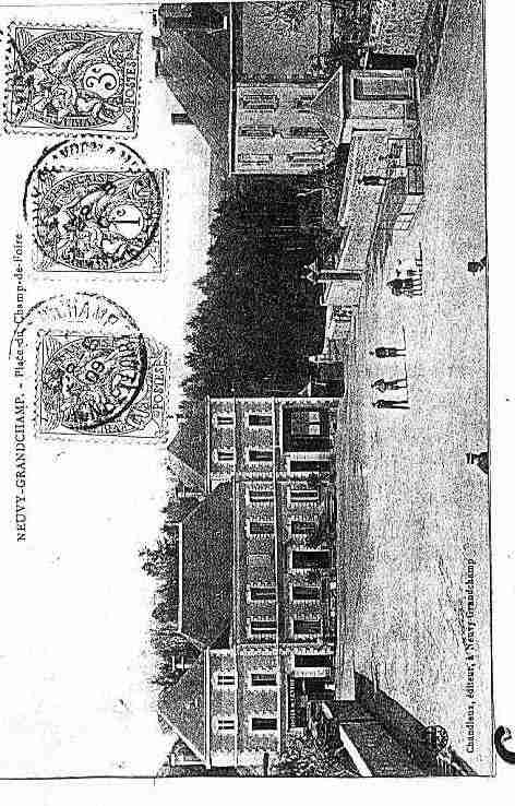 Ville de NEUVYGRANDCHAMP Carte postale ancienne
