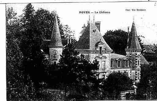 Ville de ROYER Carte postale ancienne
