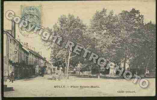 Ville de RULLY Carte postale ancienne