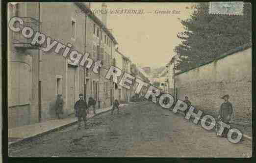 Ville de SAINTGENGOUXLENATIONAL Carte postale ancienne