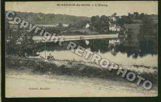 Ville de SAINTSERNINDUBOIS Carte postale ancienne