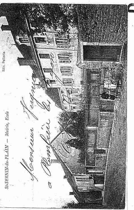 Ville de SAINTSERNINDUPLAIN Carte postale ancienne