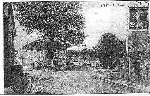 Ville de AISYSURARMANCON Carte postale ancienne