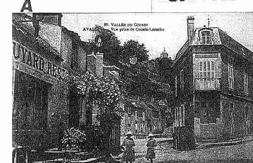Ville de AVALLON Carte postale ancienne