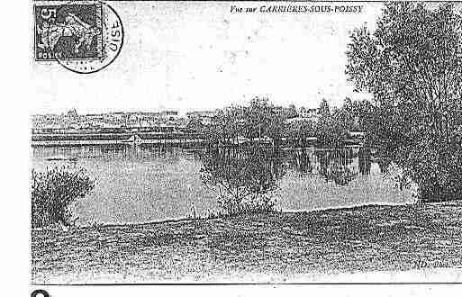Ville de CARRIERESSOUSPOISSY Carte postale ancienne