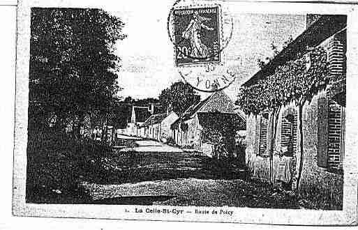 Ville de CELLESTCYR(LA) Carte postale ancienne