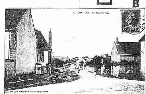 Ville de CHAILLEY Carte postale ancienne